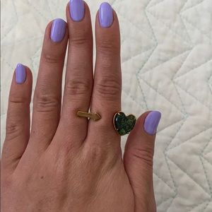 Marc by Marc Jacobs Heart Arrow Ring